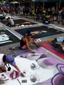 The 20th Annual Lake Worth Street Painting Festival