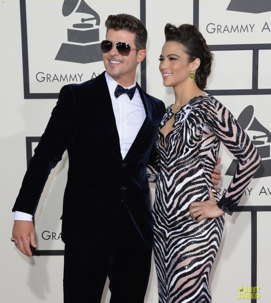Robin Thicke's Ken Doll Arms