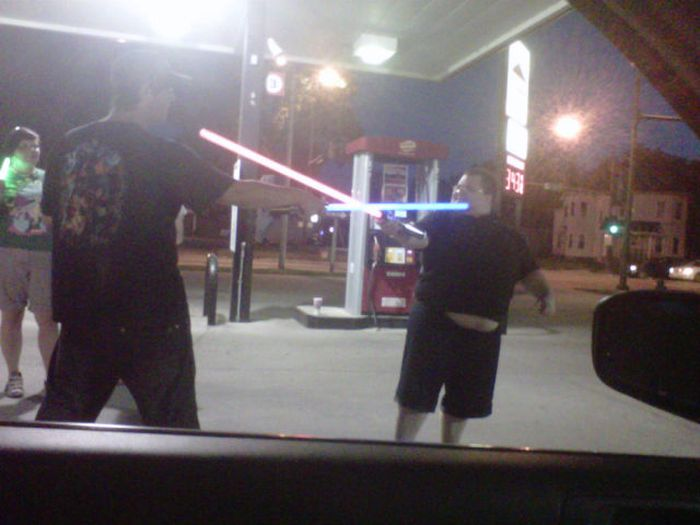 Awkward Gas Station Moments