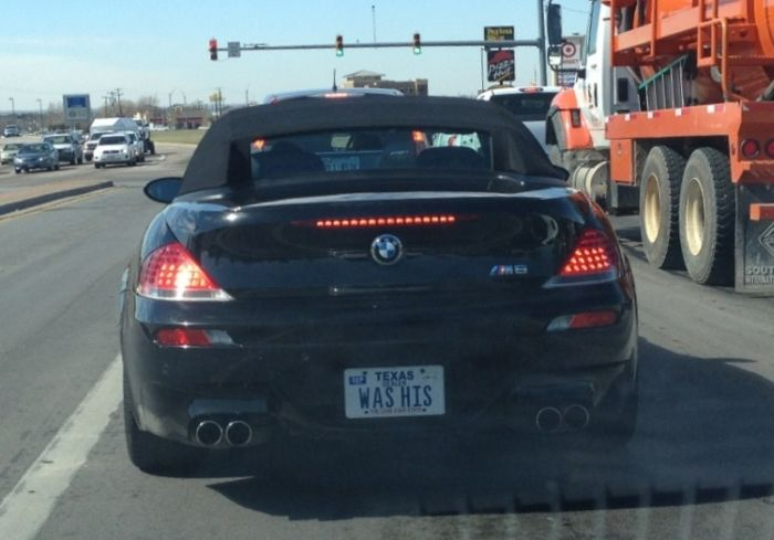 Funny License Plates, part 5
