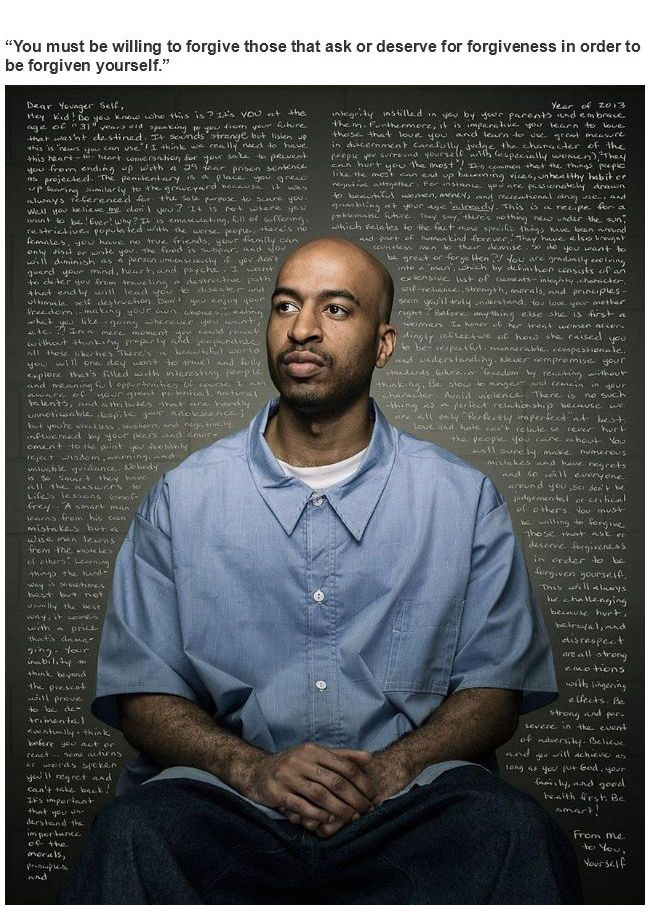 Inmates Give Advices to Their Younger Self