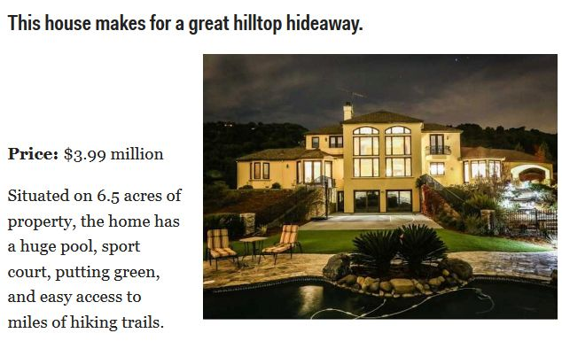 The Most Expensive Mansions for Sale in Silicon Valley