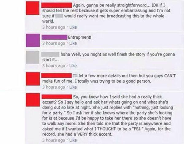 Police Girl Mistake