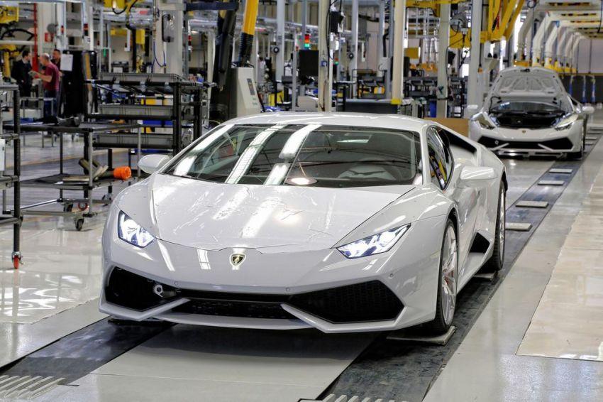 How is made Lamborghini Huracan