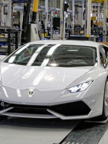 How is made Lamborghini Huracan