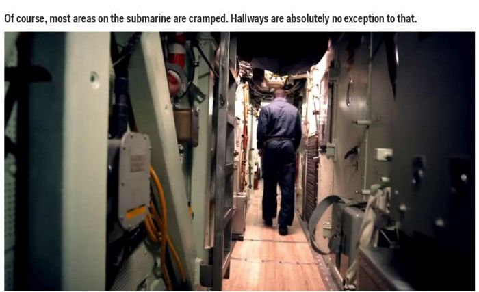 Inside a US Navy Submarine