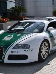 Police Cars of Dubai