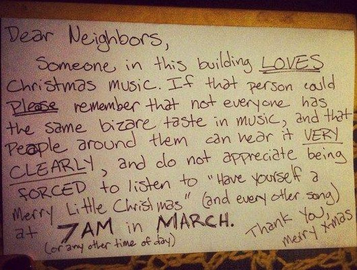 Why We Hate Neighbors