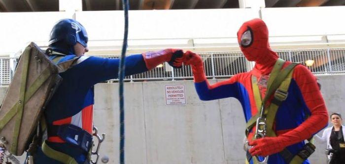 Superhero Window Cleaners