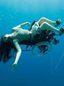 Scuba Diving in a Wheelchair