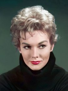 Kim Novak Then and Now