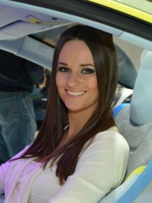 Beautiful Girls from Geneva Motor Show 2014
