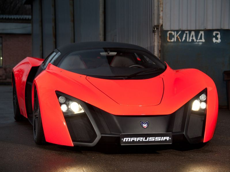 Marussia - how is made Russian supercar