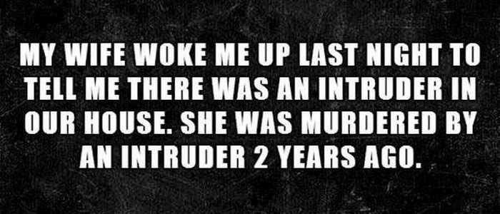 Two-Sentence Horror Stories