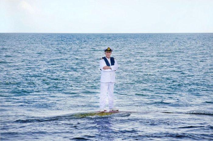 Captain Kevin Oprey