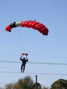 Skydiver Gets Hit by a Plane