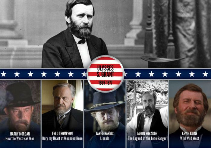 Presidents Portrayed in Movies