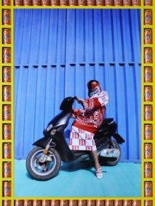 Female Bikers of Marrakech