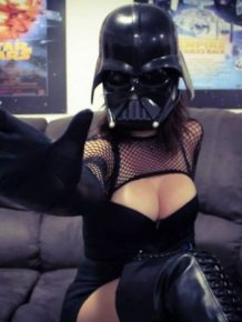 Very Hot Darth Vader Cosplay Costume