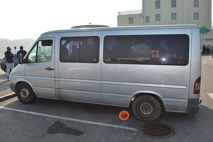 How Many Romanian Gypsies Will Fit Inside This Van?