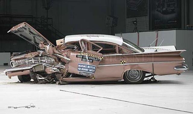 1959 Chevrolet Bel Air VS 2009 Chevrolet Malibu