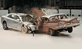 1959 Chevrolet Bel Air VS 2009 Chevrolet Malibu