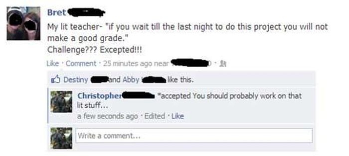 Grammar and Spelling Fails, part 3