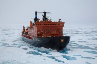 Atomic icebreakers in the Arctic