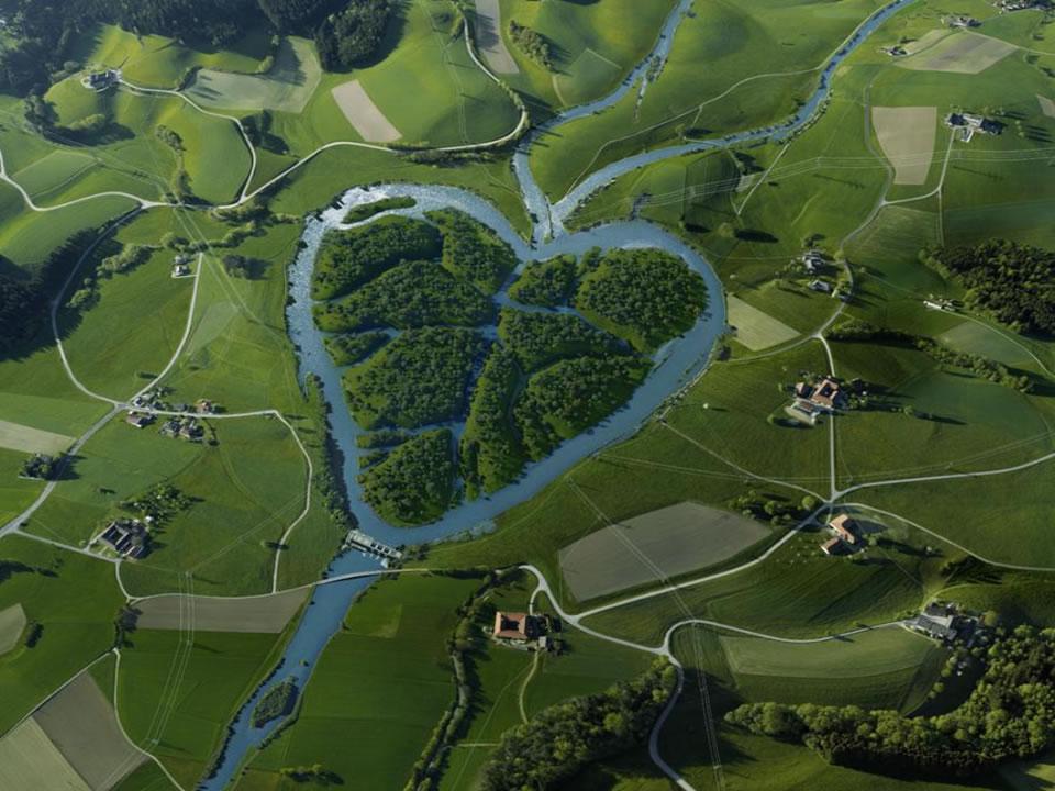 Beautiful rivers around the World