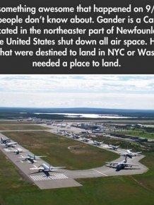 September 11th, 2001, Gander, Canada