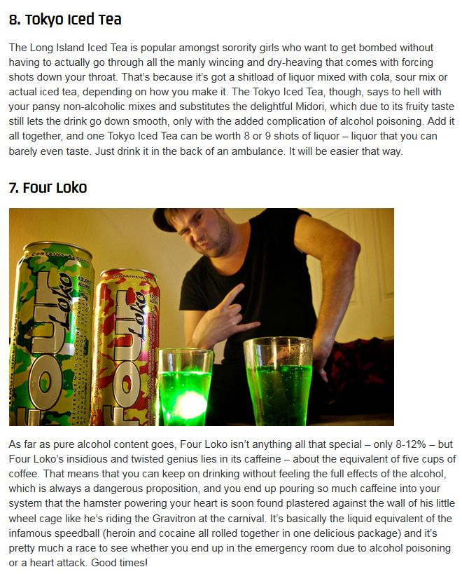 Some of the Most Dangerous Drinks in the World