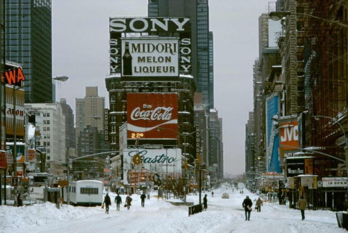 New York in the 1980s