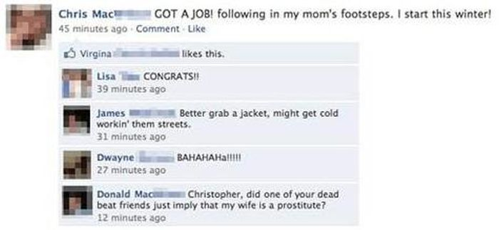Parents on Facebook