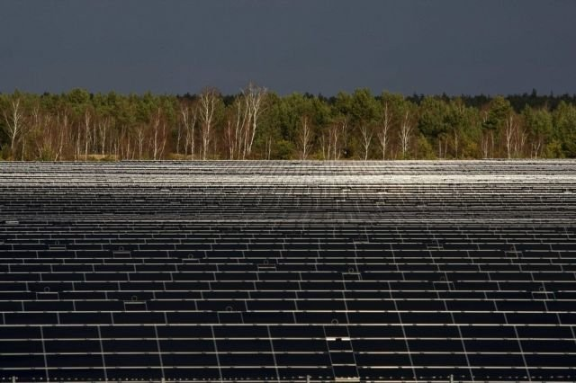 Solarpark Lieberose, a Solar Power Plant in Germany