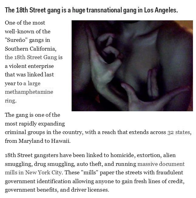 The Most Dangerous US Gangs