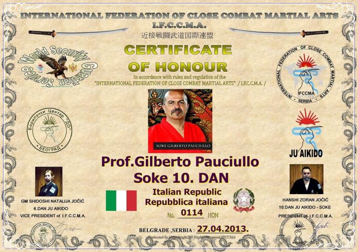 Forget About Chuck Norris. Meet Gilberto Pauciullo