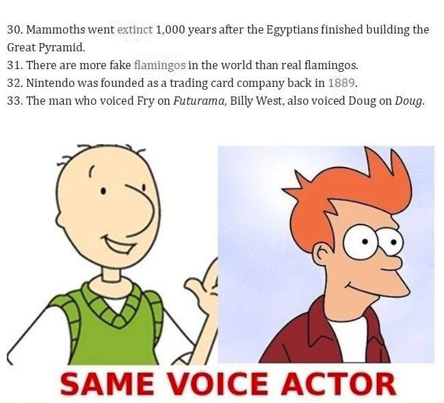 Unbelievable Facts That Are True, part 2