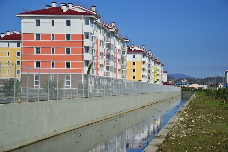 Abandoned Olympic village in Sochi