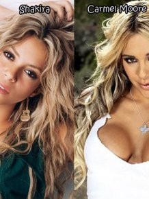 Celebrities And Their Pornstar Doppelgangers