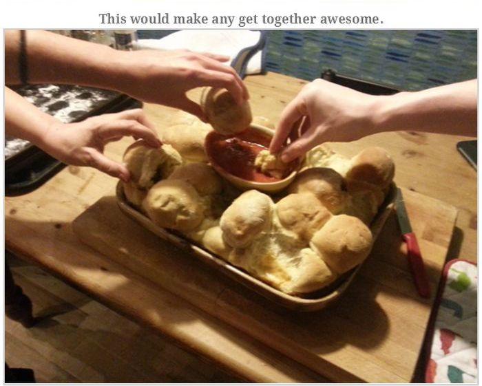 Mystery Pizza Bread Recipe