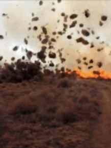 Dust Devil vs Firefighters
