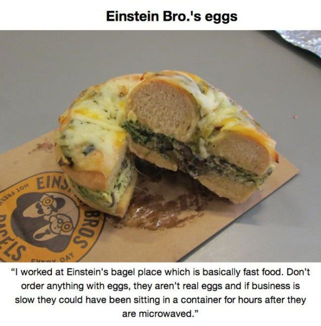 Never Buy These Fast Food Items