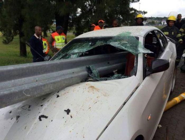Terrible Crash With No Causalities