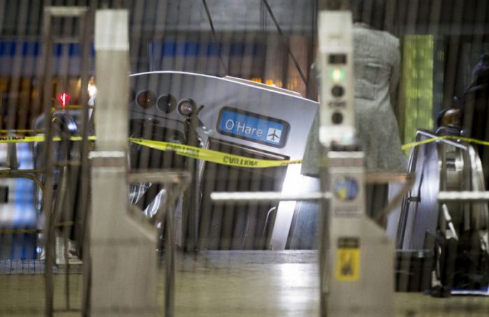 Train Derailment at Chicago O'Hare International Airport
