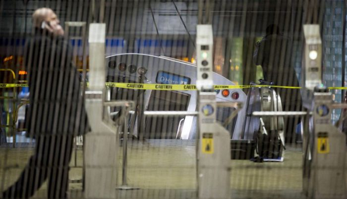 Train Derailment at Chicago O'Hare International Airport