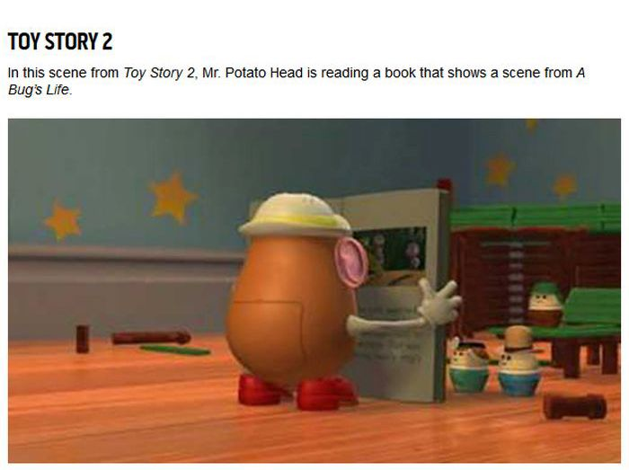 Hidden Easter Eggs In Pixar Movies