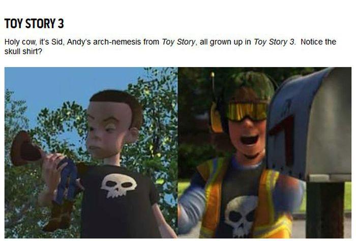 Hidden Easter Eggs In Pixar Movies