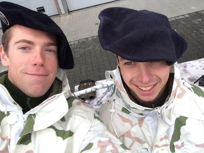 Soldier Selfies