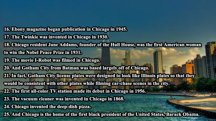 Interesting Facts About Chicago