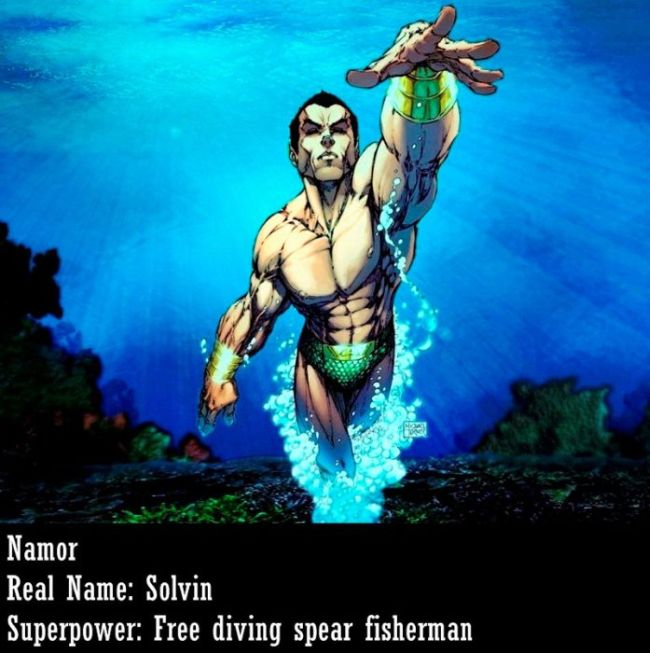 Superheroes in Real Life